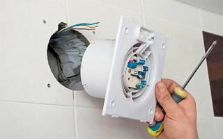 Как подключить вентилятор с конденсатором