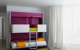Двухъярусная детская кровать-трансформер