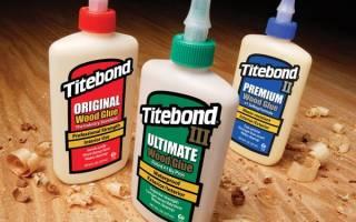 Клей для дерева Titebond
