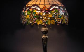 Светильники в стиле «Тиффани»
