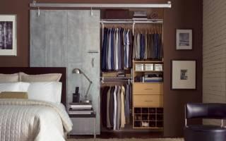 Шкафы в стиле «лофт» в интерьере