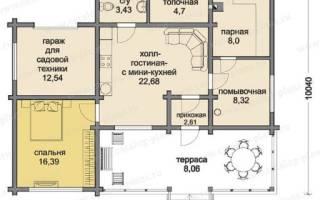 Проекты одноэтажных домов с мансардой