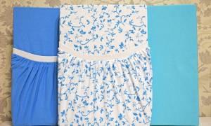 Как сшить простыню на резинке в детскую кроватку своими руками?