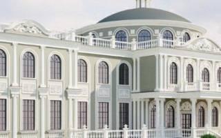 Фасады домов в различных модных стилях