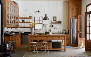 Идеи и варианты оформления кухни в стиле кантри