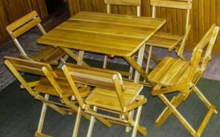 Складные столы своими руками