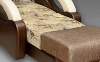 Кресло-кровать «аккордеон» фото