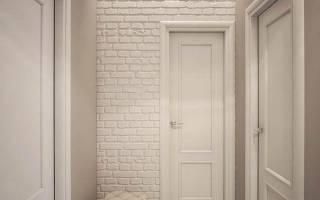 Использование белого декоративного кирпича для внутренней отделки