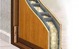Утепленная металлическая входная дверь
