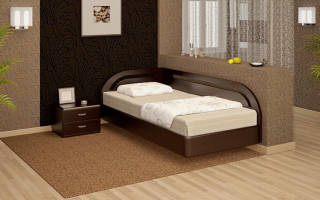 Угловые кровати фото