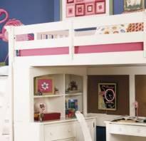 Кровать-чердак Ikea фото