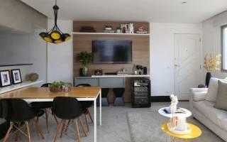 Дизайн однокомнатной квартиры площадью 36 кв. м