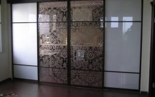 Виды раздвижных дверей
