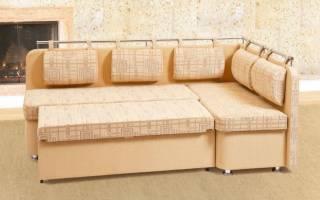 В каком стиле выбрать диван для кухни?