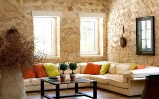 Украшаем стену в гостиной