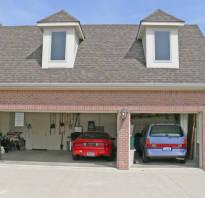Проект гаража на 2 машины
