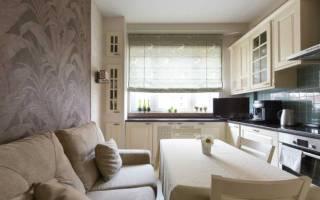 Виды прямых диванов для кухни и советы по их выбору