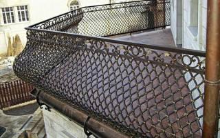 Кованые балконы фото