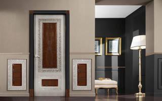 Оформление и декор двери