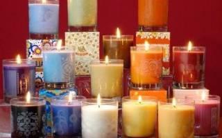 Ароматические свечи фото
