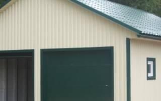 Чем лучше покрыть крышу гаража?