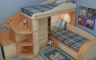 Детский шкаф для двух мальчиков