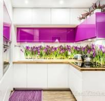 П-образные кухни фото