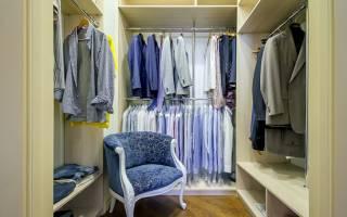 Как сделать гардеробную комнату своими руками