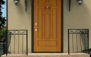 Утепленные входные двери для частного дома