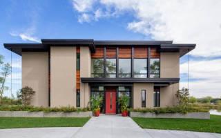 Проекты современных домов с плоской крышей