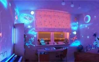 Флуоресцентные краски фото