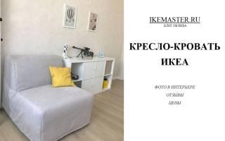 Кресла-кровати Ikea фото