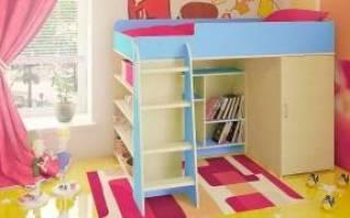 Стенки в детскую комнату