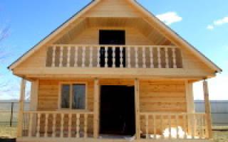 Проекты дачных домов 6х6 метров