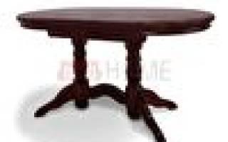 Кухонные овальные столы