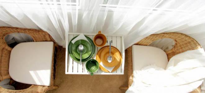 Обустройство балконов фото