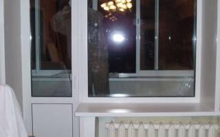 Способы установки балконных дверей
