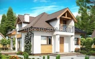 Красивые проекты одноэтажных домов из газобетона
