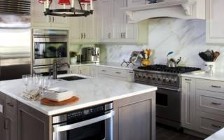 Серые кухни фото