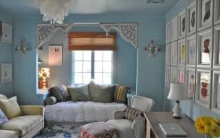 Французский стиль «прованс» в интерьере загородного дома