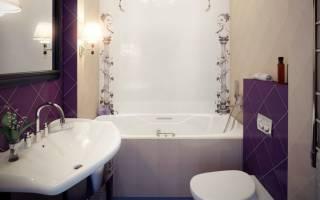 Ванная совмещенная дизайн