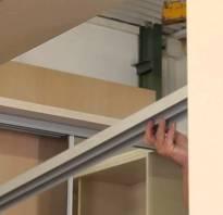Шкафы из гипсокартона
