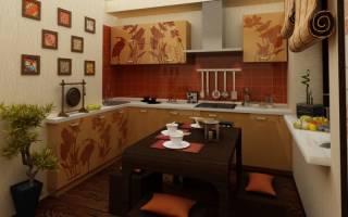 Стильные идеи дизайна интерьера кухни в японском стиле