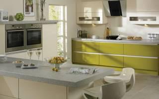 Оливковые кухни фото