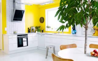 Выбираем цвет стен для кухни