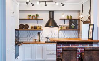 Оригинальные варианты дизайна кухни в «хрущевке»