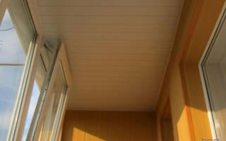 Каким сделать потолок на лоджии?