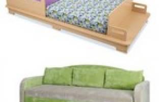 Выбираем кровать-диван для девочки
