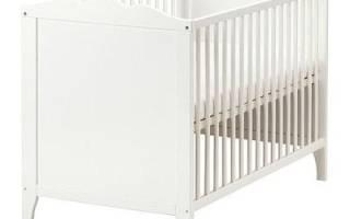 Детские кроватки Ikea для новорожденных