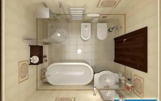 Создание интересного проекта ванной комнаты